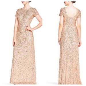 NWT JCP One by Eight Gold Gown Dress 12